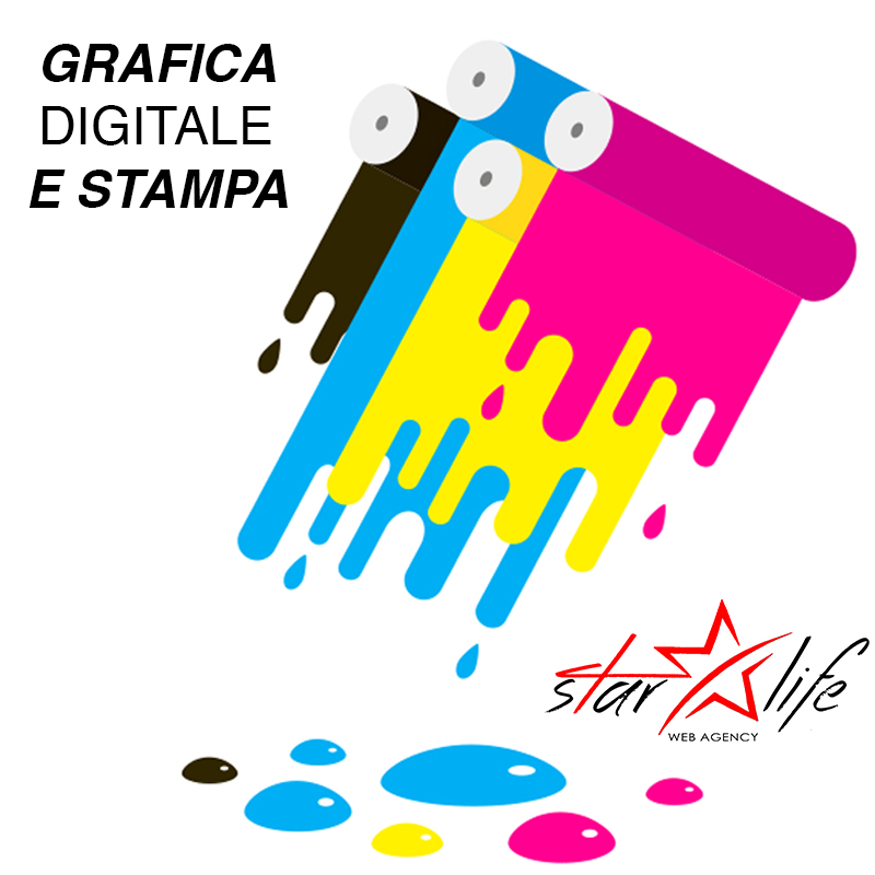 Grafica digitale e stampa